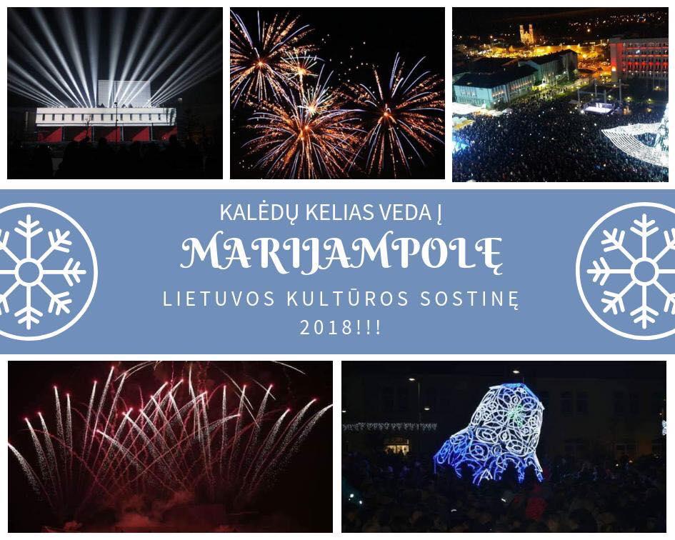 Kalėdų kelias veda į Marijampolę-Lietuvos kultūros sostinę 2018