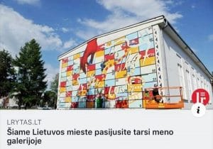 Šiame Lietuvos mieste pasijusite tarsi meno galerijoje