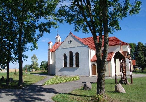 Skardupių bažnyčia ir klebonijos pastatai