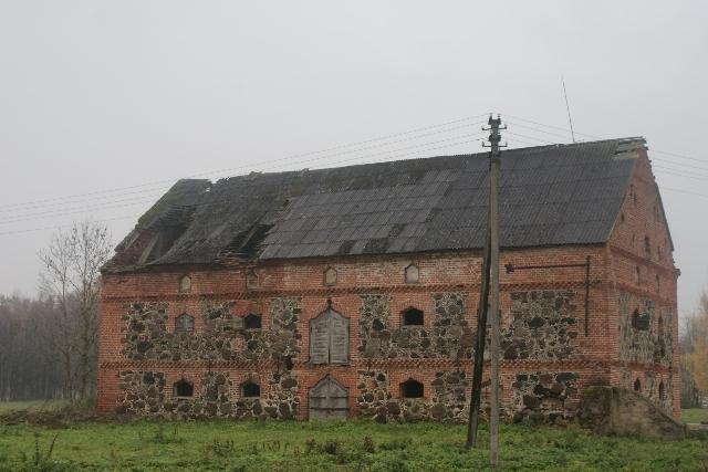 Ivoniškio (Gudelių) buvusio dvaro sodybos fragmentai