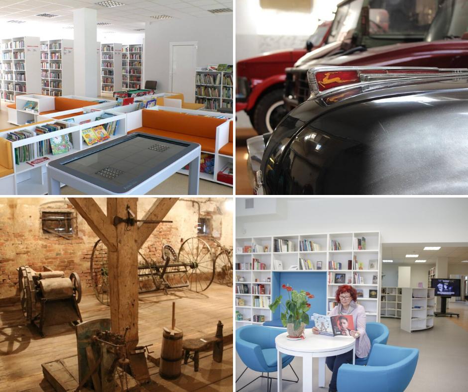 You are currently viewing Bibliotekos ir muziejai atveria duris!