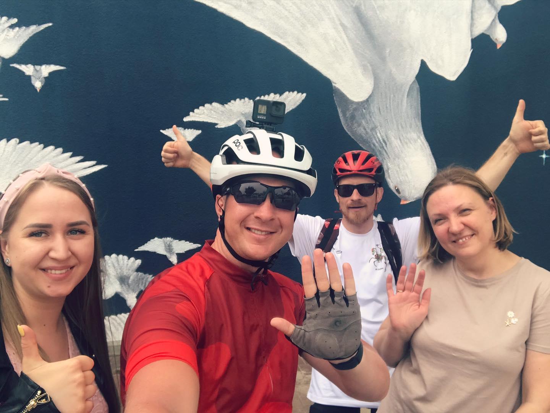 1000 km dviračiu. Apie Marijampolę