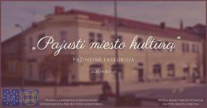 """Read more about the article Pažintinė ekskursija """"Pajusti miesto kultūrą"""""""