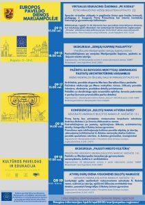 Europos paveldo dienos Marijampolėje