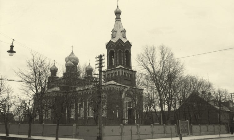 St. Vincent Paulietis Church, formerly St. Church of St. Nicholas the Wonderworker