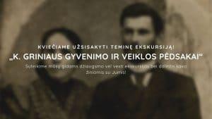 """Read more about the article Teminė ekskursija """"Lietuvos Prezidento K. Griniaus gyvenimo ir veiklos pėdsakai Marijampolėje"""""""