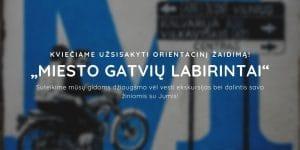 """Read more about the article Orientacinis žaidimas """"Miesto gatvių labirintai"""""""