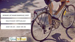 """Read more about the article """"MINAM UŽ MARIJAMPOLĘ 2021"""" VIRTUALIAI!"""