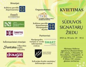 Read more about the article Kviečiame pagerbti Sūduvos signatarų jubiliejus ir keliauti Sūduvos signatarų žiedu