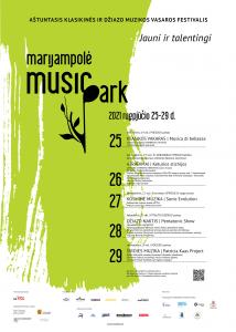 Read more about the article Aštuntasis klasikinės ir džiazo muzikos vasaros festivalis MARIJAMPOLĖ MUSIC PARK