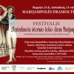 """Artėja festivalis """"Teatralizuota istorinio šokio diena Marijampolėje"""""""