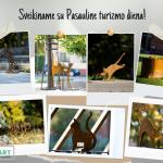 Pasaulinę turizmo dieną Marijampolėje pristatyti septyni stebuklingi grafienės katinai