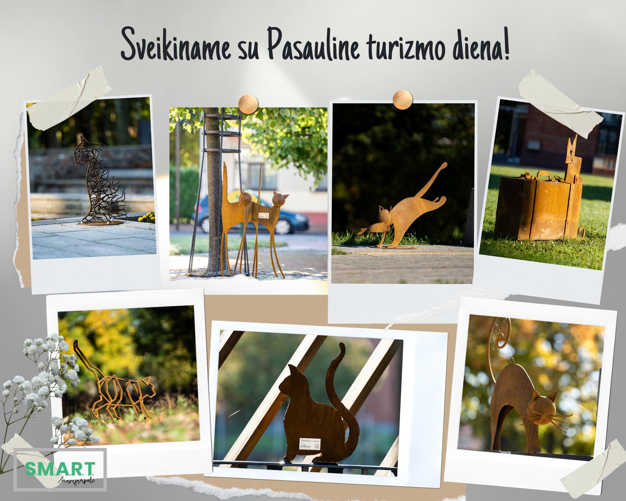 Read more about the article Pasaulinę turizmo dieną Marijampolėje pristatyti septyni stebuklingi grafienės katinai