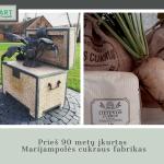 Prieš 90 metų įkurtas Marijampolės cukraus fabrikas
