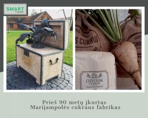Read more about the article Prieš 90 metų įkurtas Marijampolės cukraus fabrikas