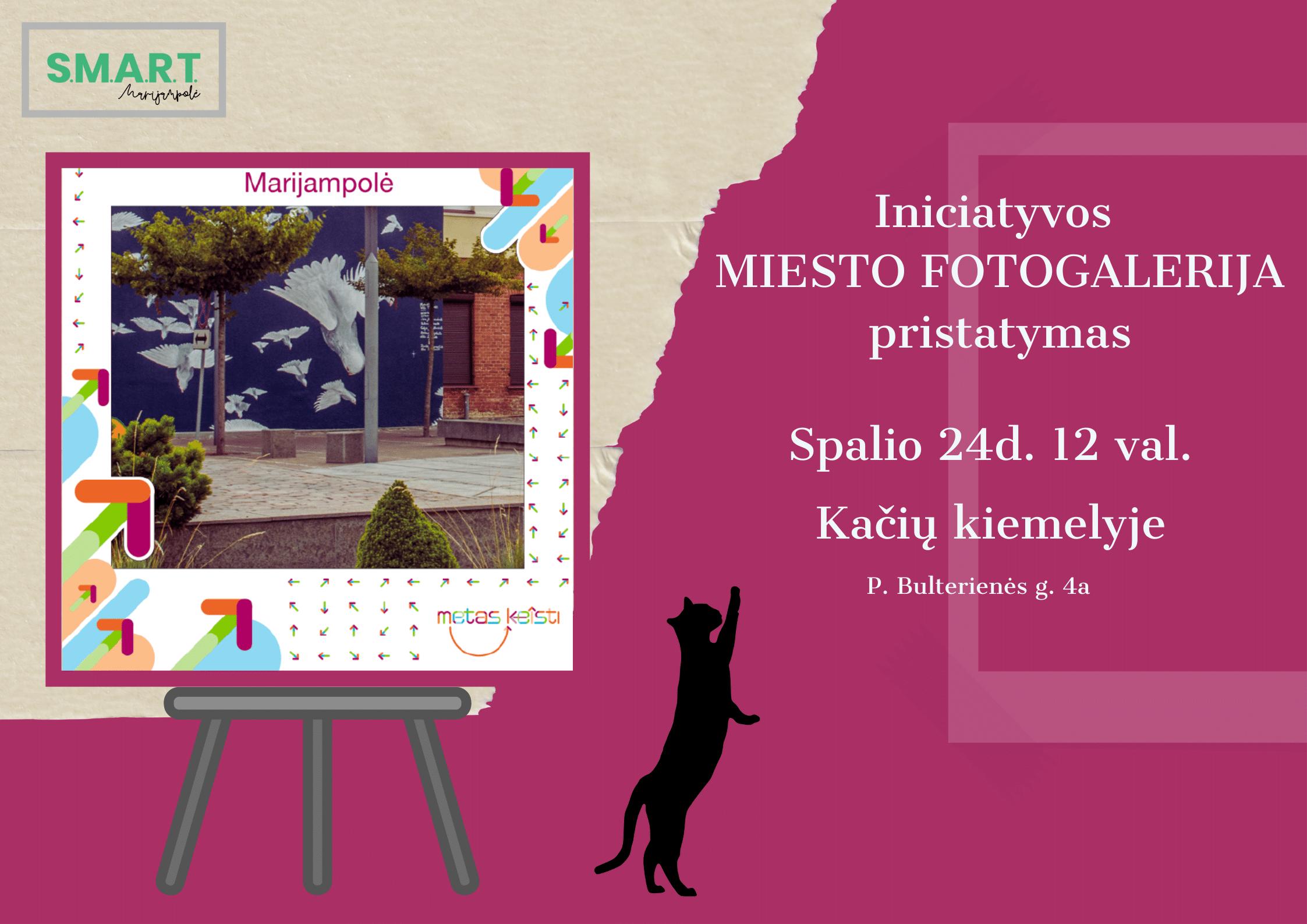 """Read more about the article Kampanija """"Metas keisti"""" kviečia tapti Marijampolės gatvės meno ambasadoriais"""